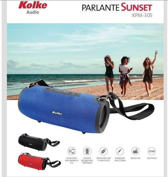 Parlante Sunset KPM-305 Rojo - 1