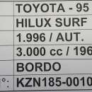 Toyota Hilux Surf 1996 - 8