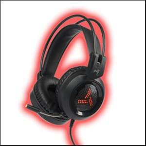 Auricular Gaming Shadow Rojo - 0