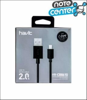 Cable Micro USB Cb8610 Negro 1M