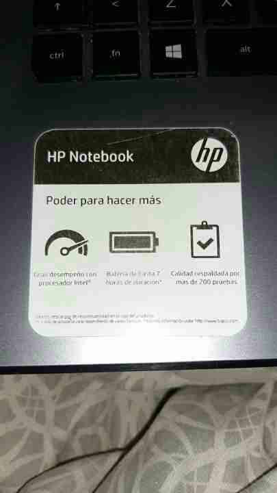 Notebook HP - 2