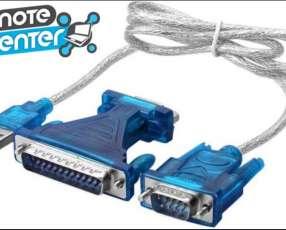 Cable usb a serial con adaptador paralelo