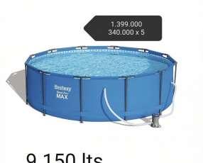 Piscina 9150 litros redonda Bestway