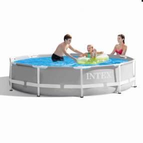 Piscina con estructura y filtro 4.485 litros Intex