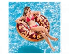 Salvavidas redondo 114cm Donut chocolate INTEX