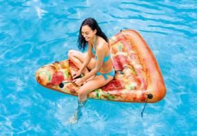 Salvavidas en forma de pizza INTEX