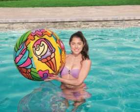 Pelota de playa 91cm Pop Art BESTWAY