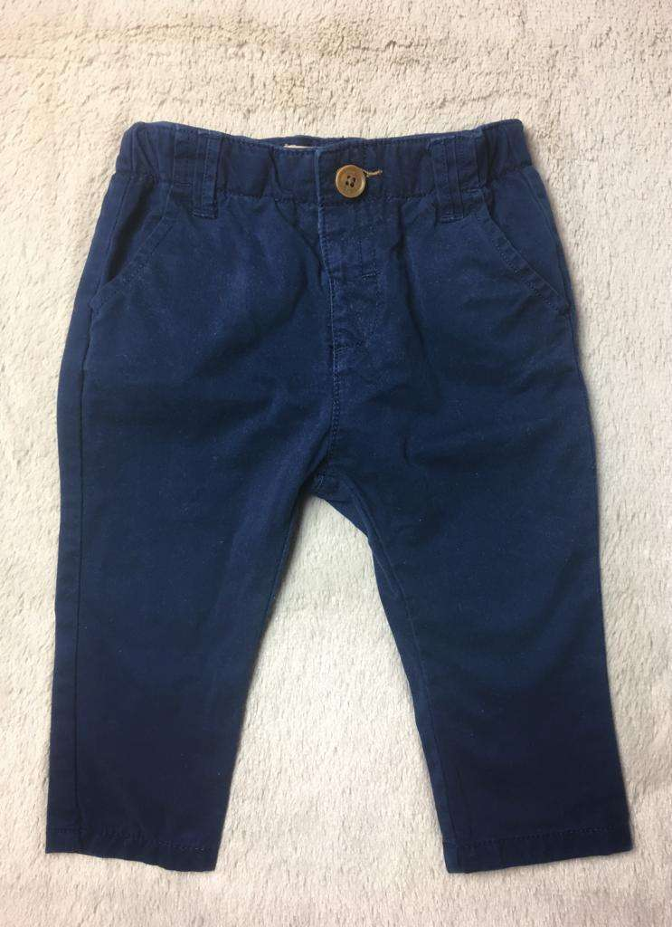 Pantalón Zara Baby Boy, 6 a 9 meses. - 0