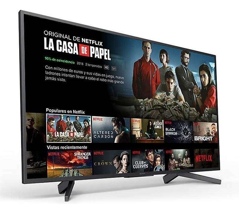 Televisor Smart Sony 49 pulgadas 4K - 0