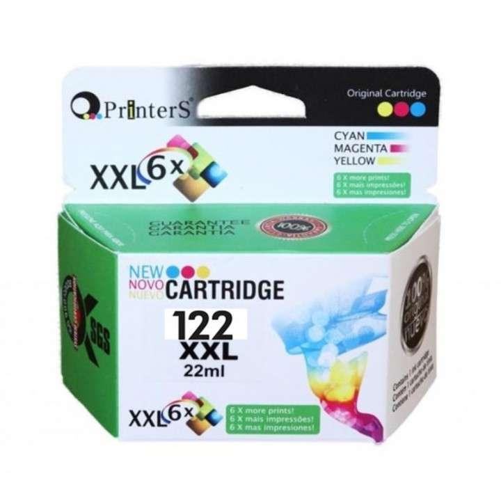 Cartucho de tinta xxl printers 122 color para hp - 0