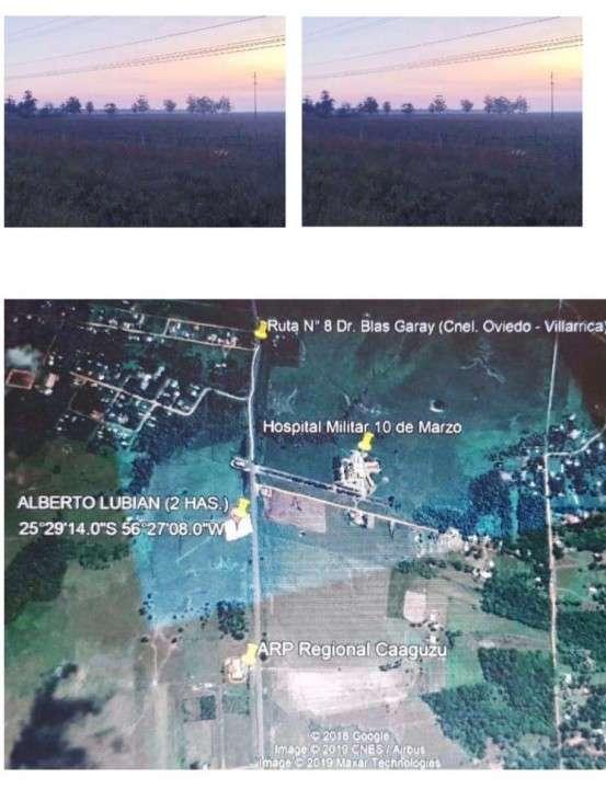 Terreno de 2 hectáreas en Coronel Oviedo - 1