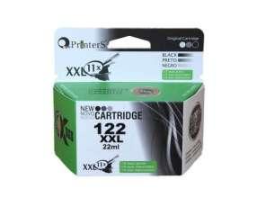 Cartucho de tinta xxl printers 122 negro para hp