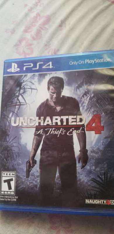 Uncharted 4 PS4 - 0
