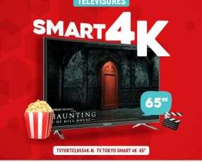 Smart TV Tokyo 4K de 65 pulgadas