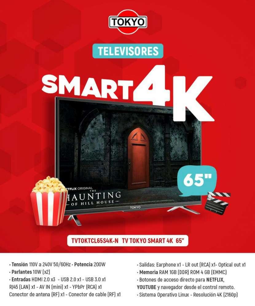 Smart TV Tokyo 4K de 65 pulgadas - 0