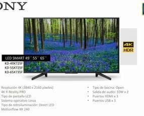 Smart TV Sony 4K de 55 pulgadas