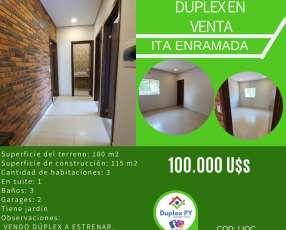 Duplex en Itá Enramada