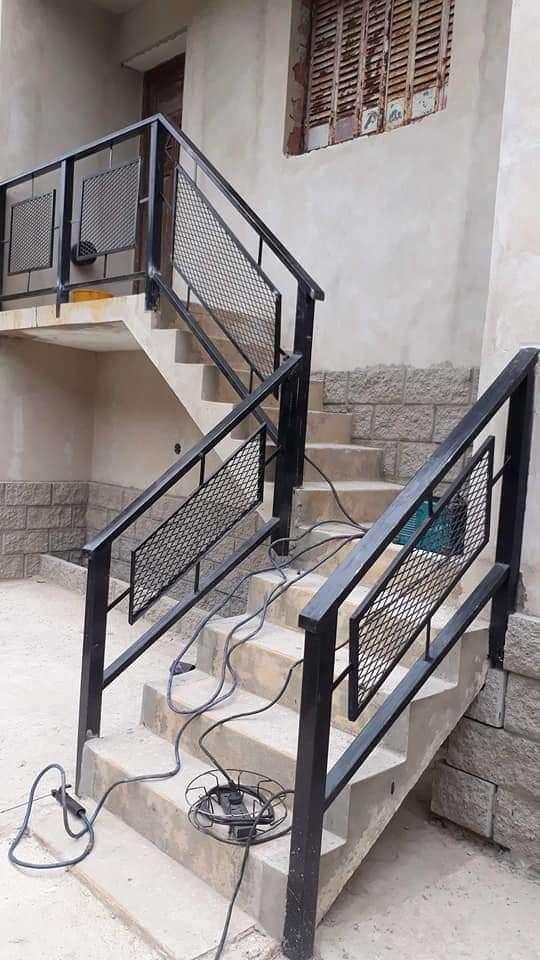 Reja pasamano para escalera - 8
