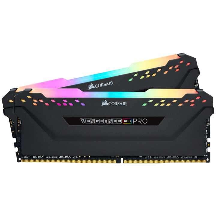 Memoria DDR4 16 GB 3000 MHZ corsair vengeancer RGB PRO2X8N - 0