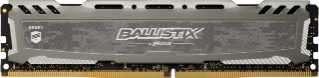 Memoria DDR4 8 GB 2666 crucial bls8g4d26bfsbk ballistix LT gris - 0