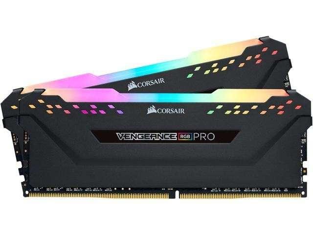 Memoria DDR4 16 GB 3200 MHZ corsair vengeance RGB PRO2X8B - 0