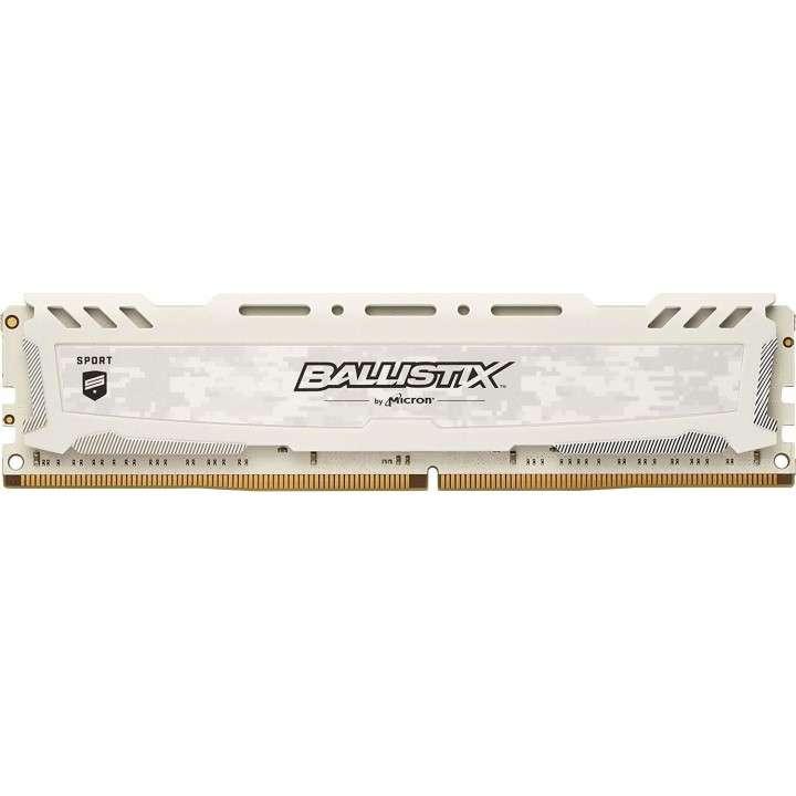 Memoria DDR4 4GB 2666 MHZ ballistix gaming blanco - 0