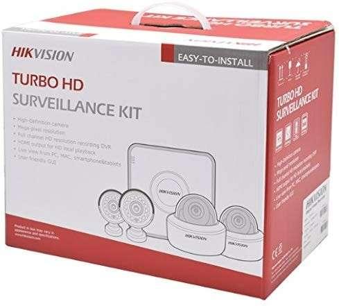 Circuito Cerrado 4 cámaras Hikvision HD - 1