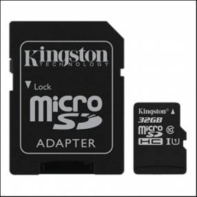 Memoria Micro SDXC 32 GB Kingston 80MB