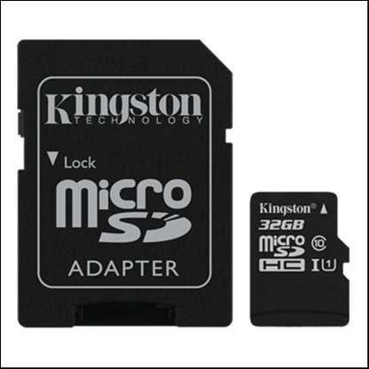 Memoria Micro SDXC 32 GB Kingston 80MB - 0