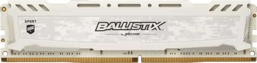 Memoria DDR4 8G 3200 crucial bls8g4d32aesck ballistix lt white - 0