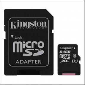 Memoria Micro SDXC 64 GB Kingston 80MB