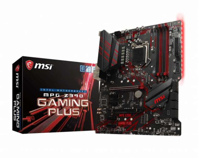 MB MSI LGA 1151 Z390 gaming plus HDMI - 2