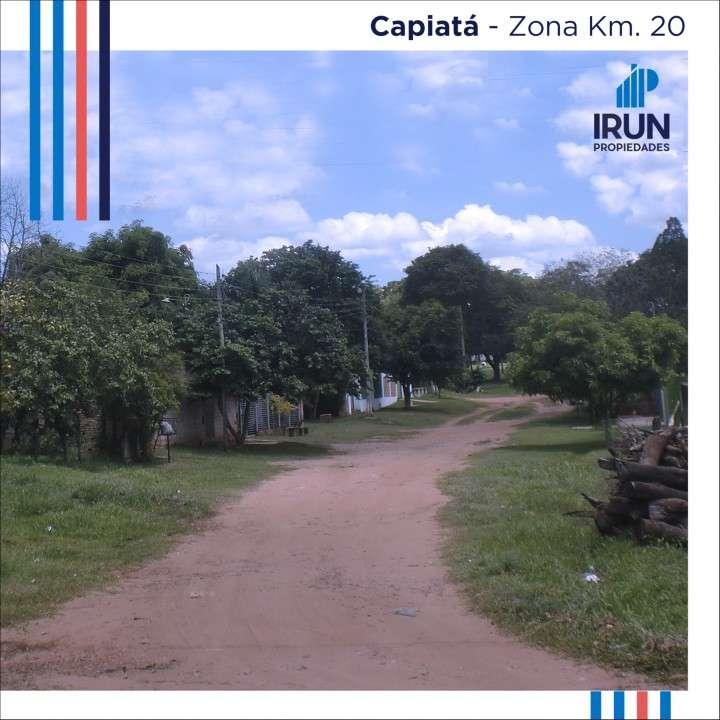 Terreno en Capiatá zona Km 20 - 0
