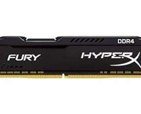 Memoria DDR4 8GB 3200 king hypx fury bk HX432C18FB2/8