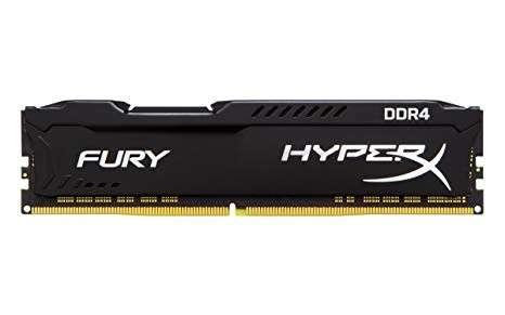 Memoria DDR4 8GB 3200 king hypx fury bk HX432C18FB2/8 - 0