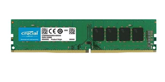 Memoria DDR4 4 GB 2666 MHZ crucial - 0