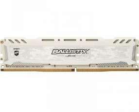 Memoria DDR4 16GB 2666 MHZ ballistix gaming blanco