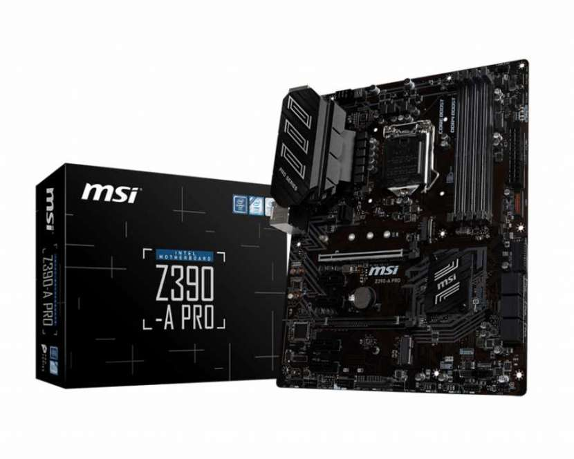 MB MSI LGA 1151 Z390-A PRO VGA/HDMI - 1
