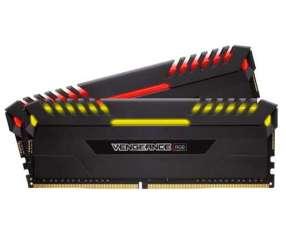 Memoria DDR4 16 GB 2666 MHZ corsair vengeance RGB 2X8 N