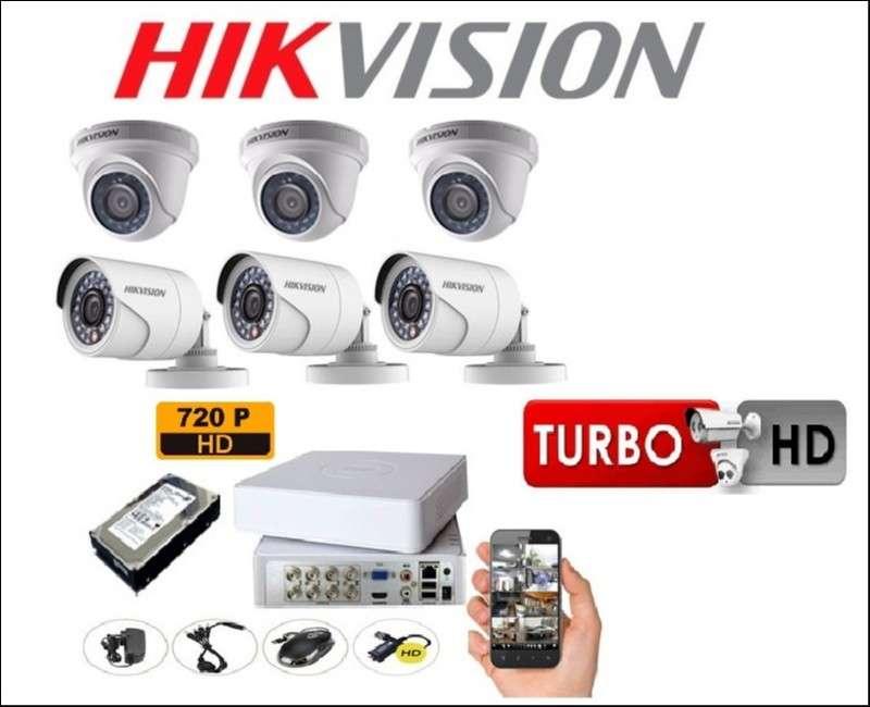 Hikvision CCTV kit 6 cámaras - 2
