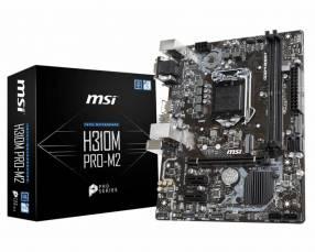 MB MSI LGA 1151 H310M PRO-M2 VGA/DVI/HDMI/M.2