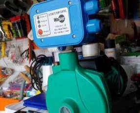 Motobomba con presurizador electrónico