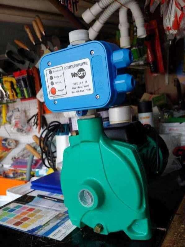 Motobomba con presurizador electrónico - 0