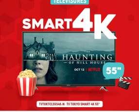Tv tokyo de 55 pulgadas smart 4k