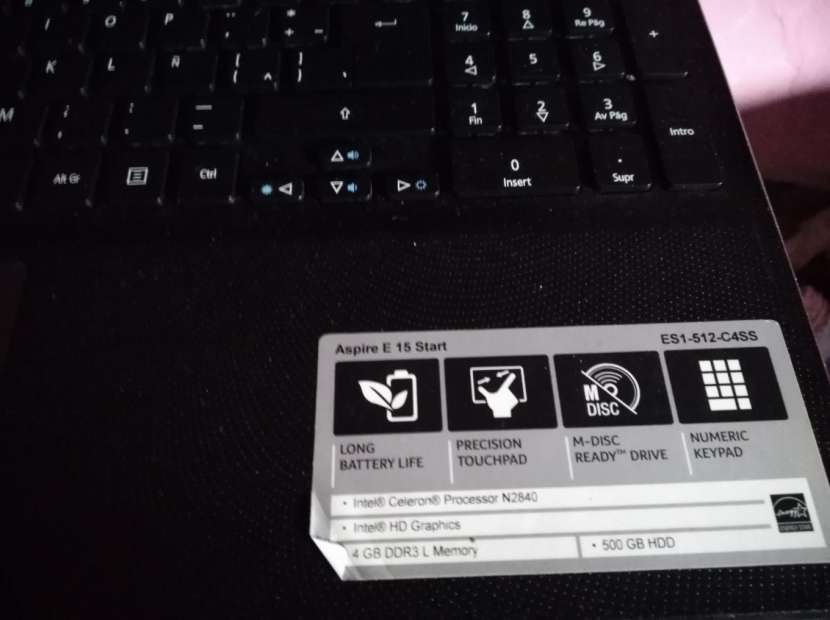 Notebook Acer Aspire E15 - 2