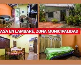 Casa en Lambaré zona Municipalidad y Casita Roll
