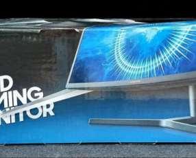 Monitor Gamer Samsung Qled 27 pulgadas curvo nuevos