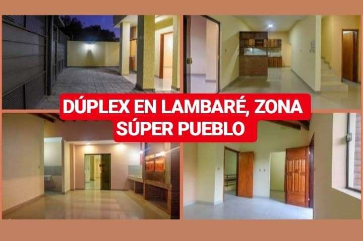 Dúplex en Lambaré zona Súper Pueblo - 0