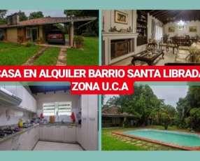 Casa Barrio Santa Librada Zona UCA