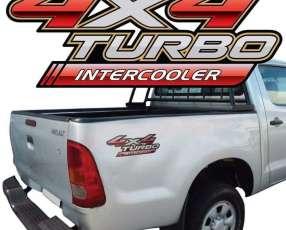 Calcomanía 4x4 turbo intercooler